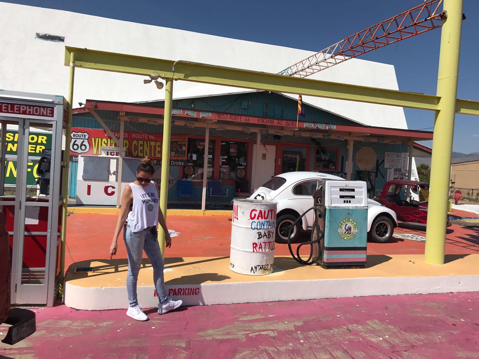 De Las Vegas al Gran Cañón por la Ruta 66