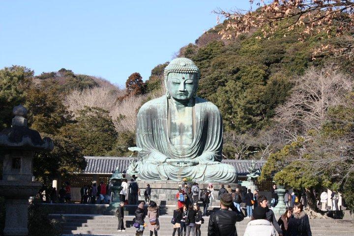 Kotoku-in Gran Buda de Kamakura, Japon