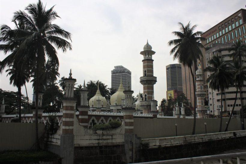 Masjid Jamek Mosque Kuala Lumpur Malaysia