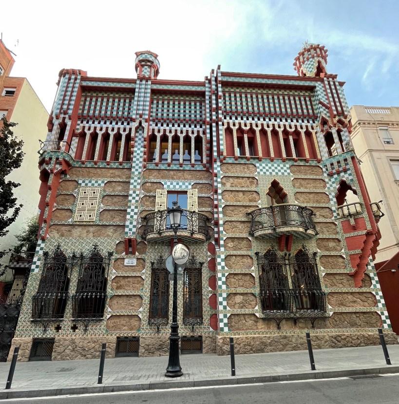 casa vicens gaudi barcelona