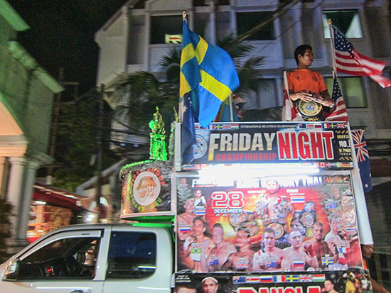 A Trip to Patong Beach for a Night Walk