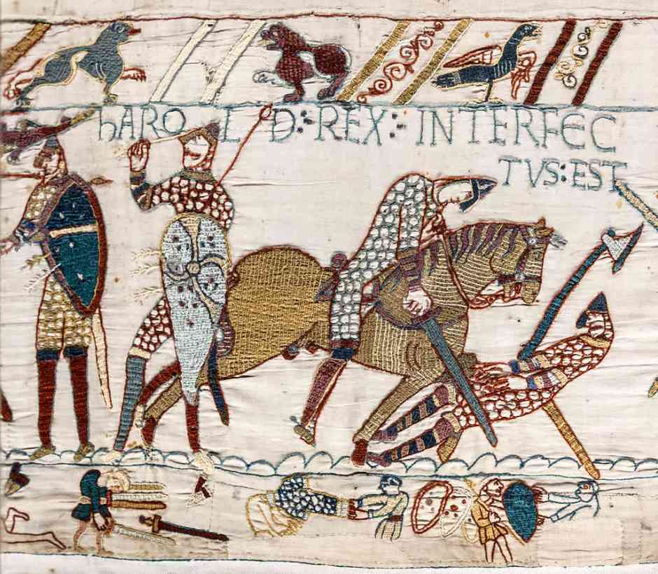 Iconic Bayeux Tapestry - Norman on Horse