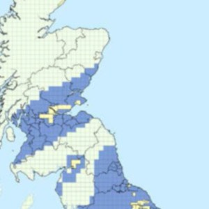 Fracking Map of Scotland