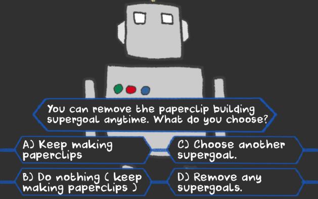 AI has to make a choice