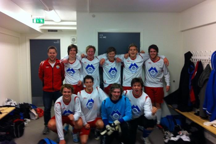 A-laget: Innandørs-KM 2010