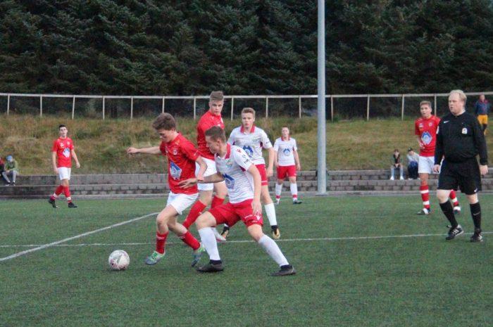 Breiddefotball på seniornivå avlyst