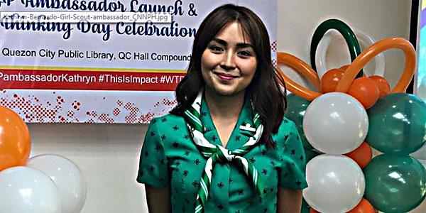 Kathryn Bernardo Girl Scout of the Philippines GSP Ambassador
