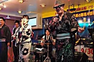 John Alejandro with Japanese group