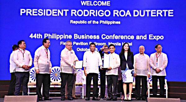 Jaime Fresnedi Rodrigo Duterte Muntinlupa Most Business-Friendly LGU