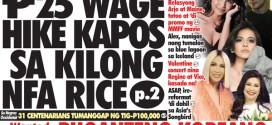 P25 wage hike kapos sa kilong NFA rice (Umento sa mininum wage aprobado )