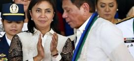VP Leni Robredo and Pres. Rodrigo Duterte
