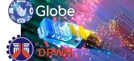 Globe fiber to the home DPWH