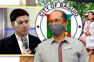 Arjo Atayde, Baguio City Mayor Benjamin Magalong, Dr Claudette Guzman Mangahas