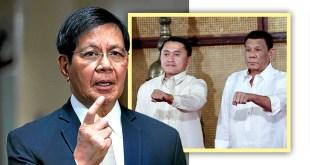 Ping Lacson, Bong Go, Rodrigo Duterte