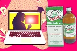 Krystall Herbal oil online teacher