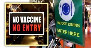 No vaccine, No entry