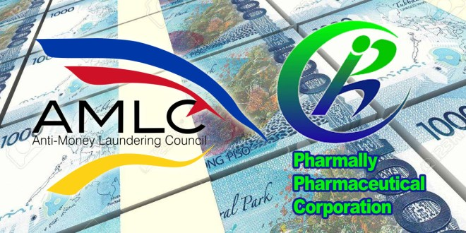 AMLC, Pharmally
