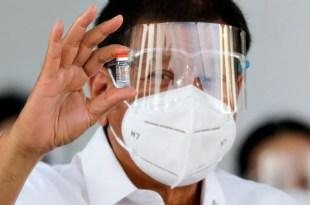 Duterte, Face shield