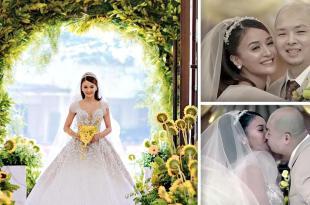 Kris Bernal,Perry Choi, wedding