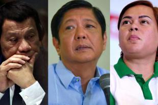 Rodrigo Duterte, Bongbong Marcos, Sara Duterte