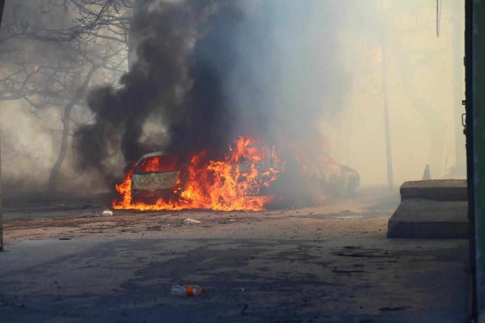 """Hatay Valiliği: """"Yangın, trafo patlaması sonucu çıktı"""""""