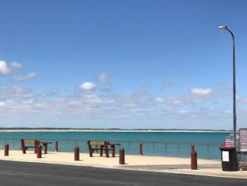 Beachport Jetty beach