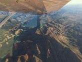 Wilpena Pound scenic flight wing plane