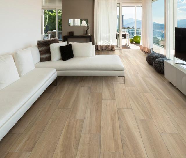 wood look tile types installation