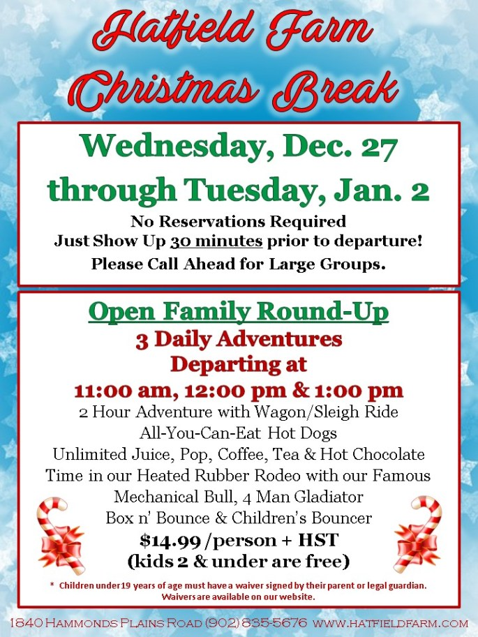 Christmas Break Specials
