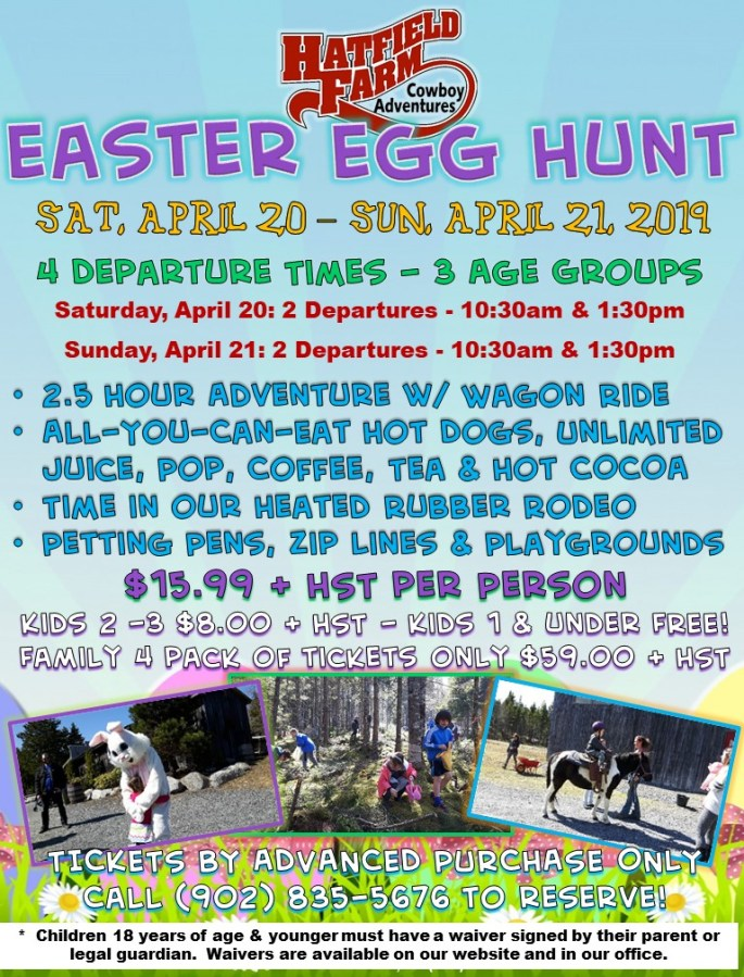 2019 Easter Poster