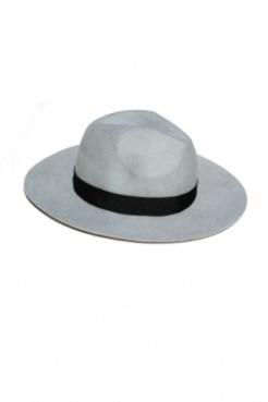 kapelusz indy classic jasny z czarnym paskiem 9