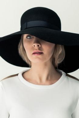 kapelusz bb z dużym rondem