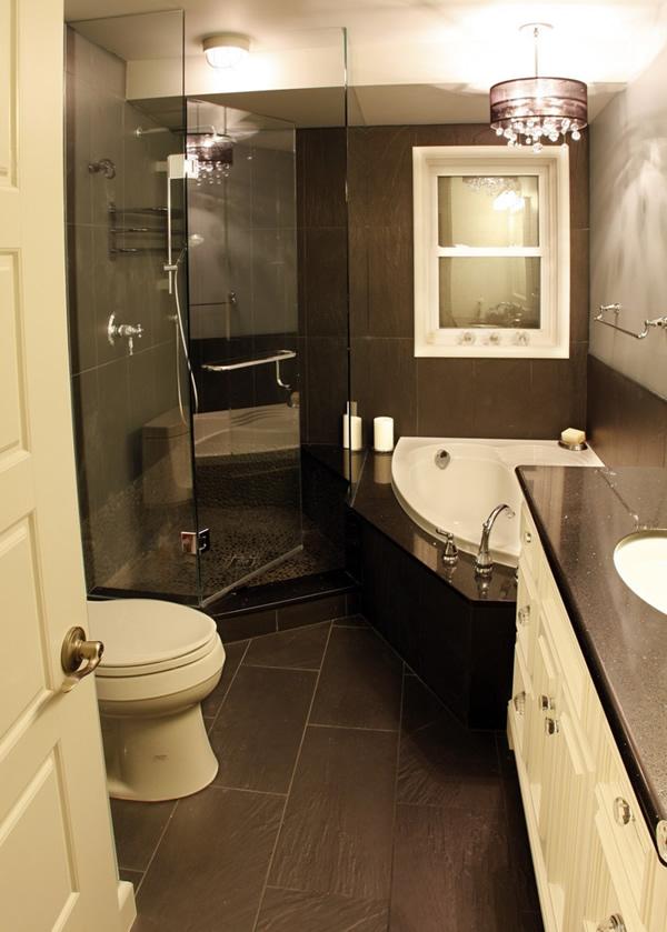 100 Small Bathroom Designs & Ideas - Hative on Simple Bathroom Designs For Small Spaces  id=27656