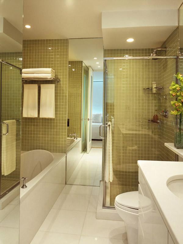 100 Small Bathroom Designs & Ideas - Hative on Small Bathroom Ideas Pictures  id=51235