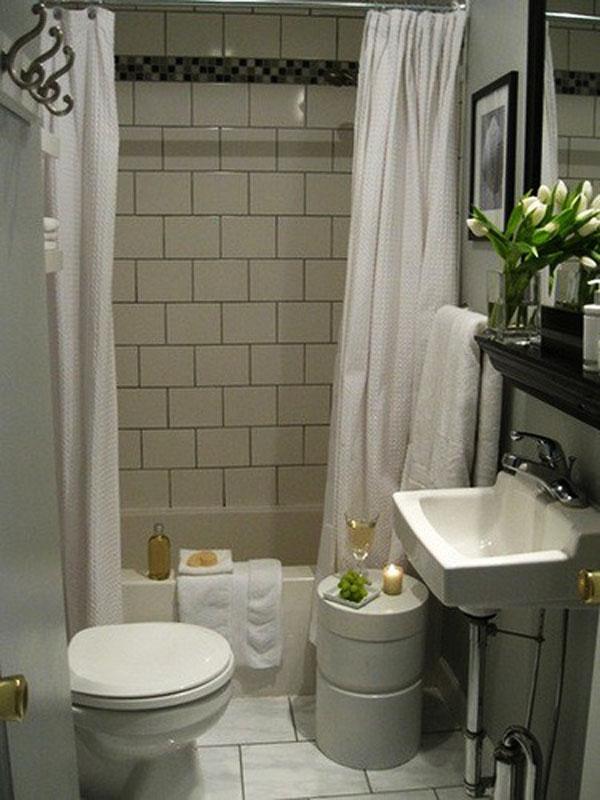 100 Small Bathroom Designs & Ideas - Hative on Bathroom Design In Small Space  id=12802