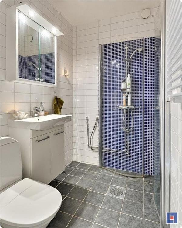 100 Small Bathroom Designs & Ideas - Hative on Bathroom Designs For Small Spaces  id=40779