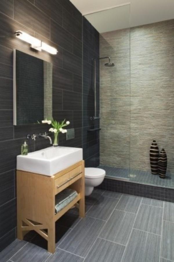 100 Small Bathroom Designs & Ideas - Hative on Small Space Small Bathroom Tiles Design  id=18088