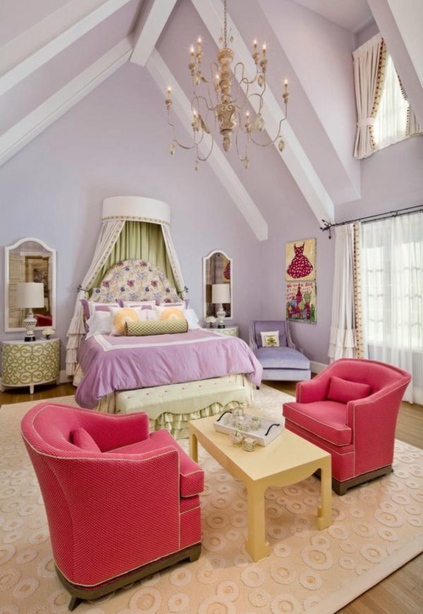 50 Cool Teenage Girl Bedroom Ideas of Design - Hative on Beautiful Room Design For Girl  id=65503