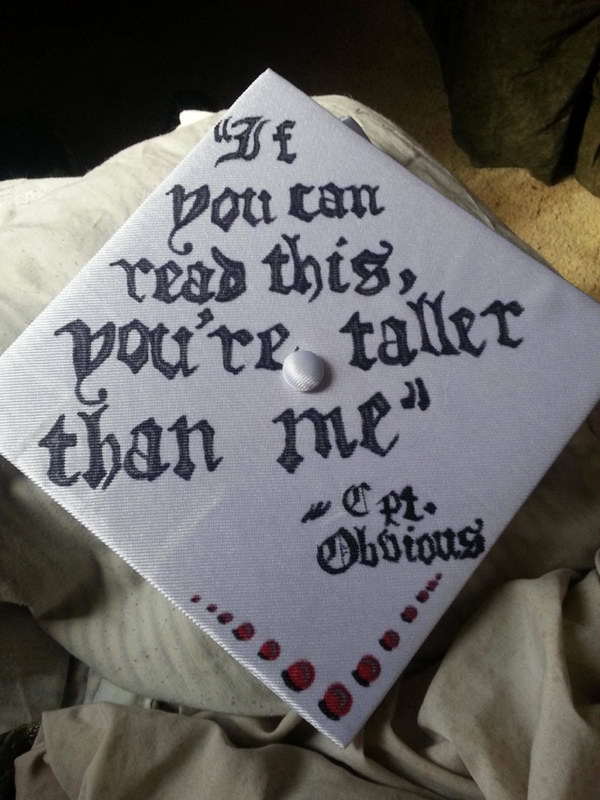 graduation cap design 31 http://hative.com/awesome-graduation-cap-decoration-ideas/