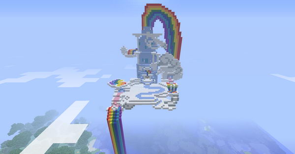 Deviantart Minecraft Town Square