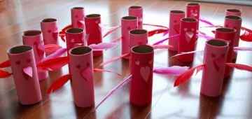 17 homemade love birds craft