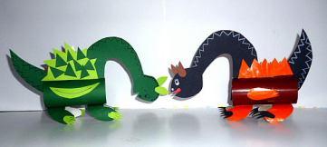 27 homemade dinosaur craft