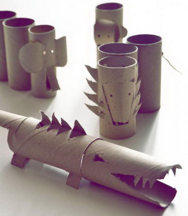60 Homemade Animal Themed Toilet Paper Roll Crafts Hative