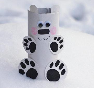 42 polar bear craft