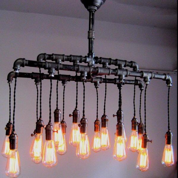 Mason Jar Pendant Track Lighting