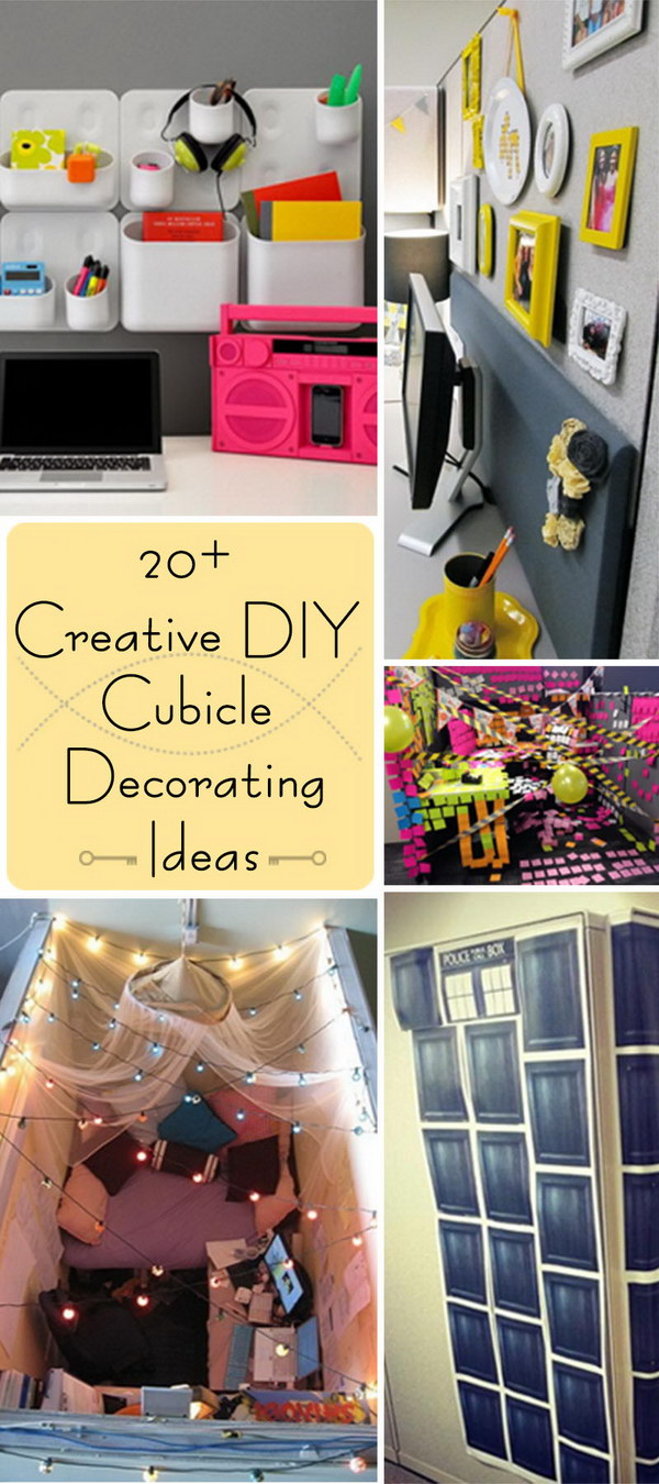 Cubicle Decorating Ideas For More Attractive Office Home Decor Studio