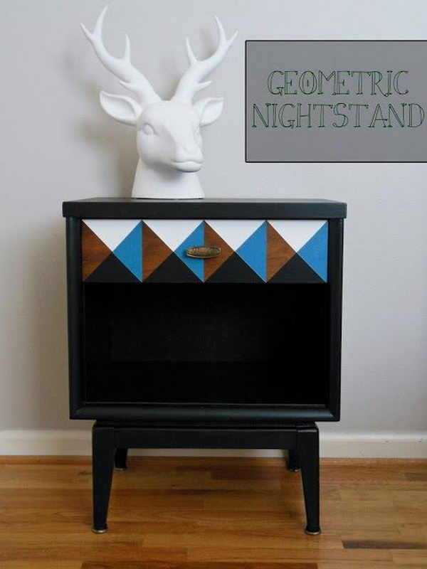 Check out refinery29 for the best bedroom decor ideas! 30 Creative Nightstand Ideas for Home Decoration - Hative