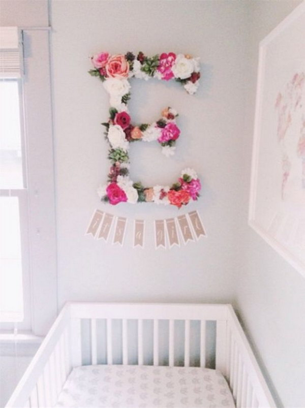 What better way to express it than in a room all her own? 20 Cute Nursery Decorating Ideas - Hative