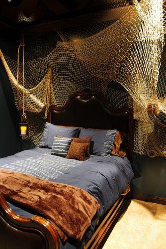 25 Nautical Bedding Ideas for Boys - Hative on Small:gr1Vspvqs9Y= Bedroom Ideas  id=14339