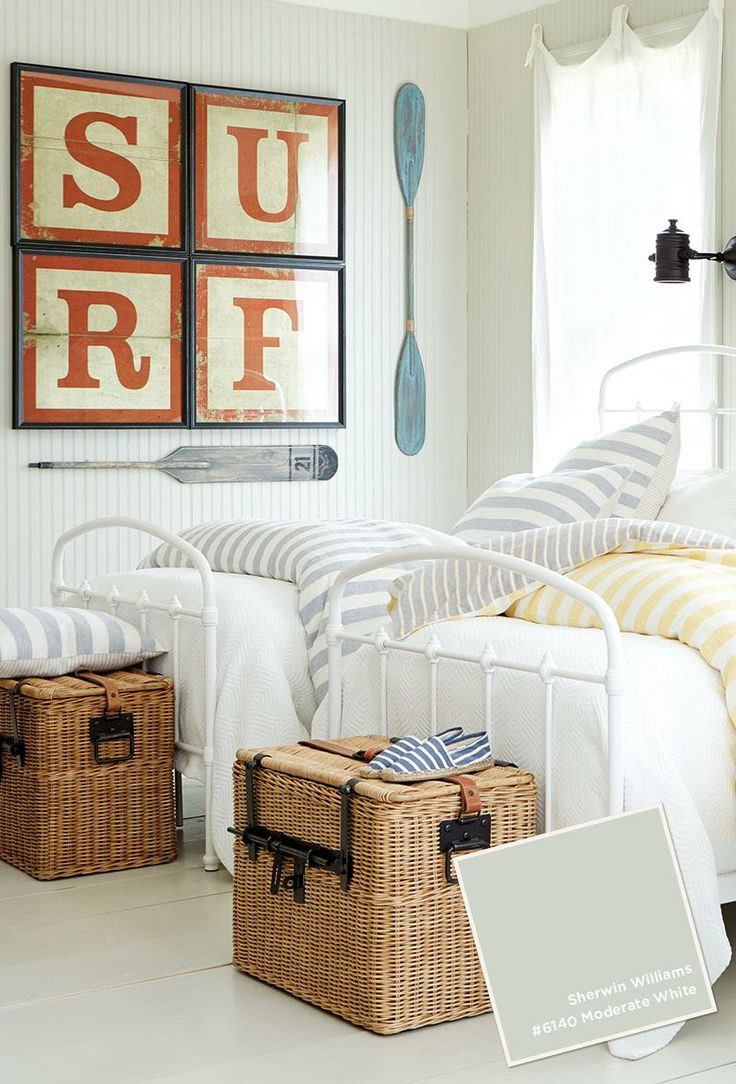 Decorating a small home might seem like a bit of a challenge at first. 25 Nautical Bedding Ideas for Boys - Hative